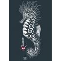 Tee-shirt Adulte L'Hippocampe Tatoo