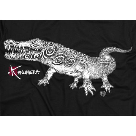 Tee-shirt Adulte La Chasse le Crocodile Tatoo