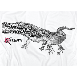 Tee-shirt Adulte le Crocodile Tatoo