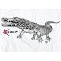Tee-shirt Adulte le Crocodile Tatoo