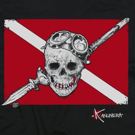 Tee-shirt Enfant Le Drapeau Pirate Plong