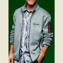Seahorse Men's Knitted Fleece Jacket