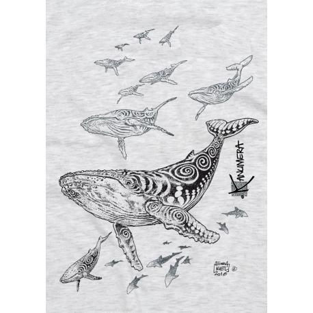 Tee-shirt Enfant Le Champ de Baleines