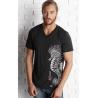 Tee-shirt 3 matières L'Hippocampe tatoo