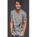 Tee-shirt délavé Le Champ de Baleines