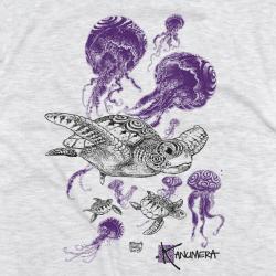 Turtles and jellyfish Kids T-shirt