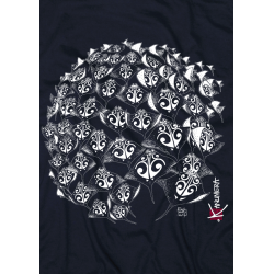 Round Rays Adult T-Shirt