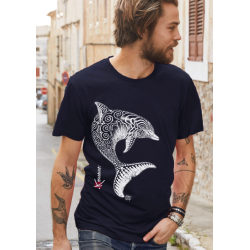Dolphin Adult T-shirt