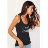 (New) Tee-shirt moulant Femme Le Requin Tatoo (Impression Poitrine)