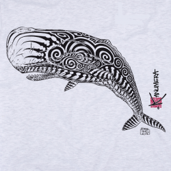 Sperm Whale Adult T-shirt