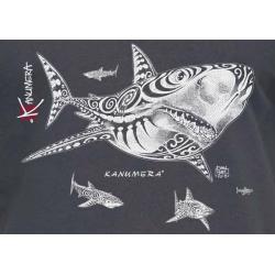 Shark Attack Adult T-shirt