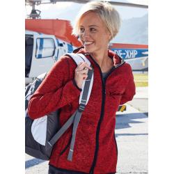 Veste à Capuche Femme en Polaire tricoté L'Hippocampe Tatoo