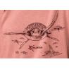 T-shirt Fluide à manches roulottées Les Tortues