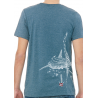 Tee-shirt Col Rond Le Requin Baleine