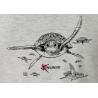 Tee-shirt délavé Les Tortues