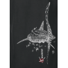 Sweat aspect délavé Le Requin Baleine