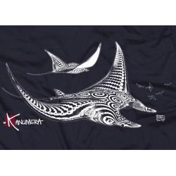 Manta Rays Adult T-shirt