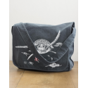 Sac Messager Canvas Les Tortues