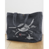Sac Canvas Shopper Les Tortues