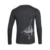 T-Shirt Henley Manches Longues Le Requin Baleine