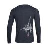 Whale shark Long Sleeve Henley T-shirt Men
