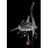 Robe sans manches Le Requin Baleine
