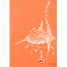 Tee-shirt Femme 3 matières Le Requin Baleine