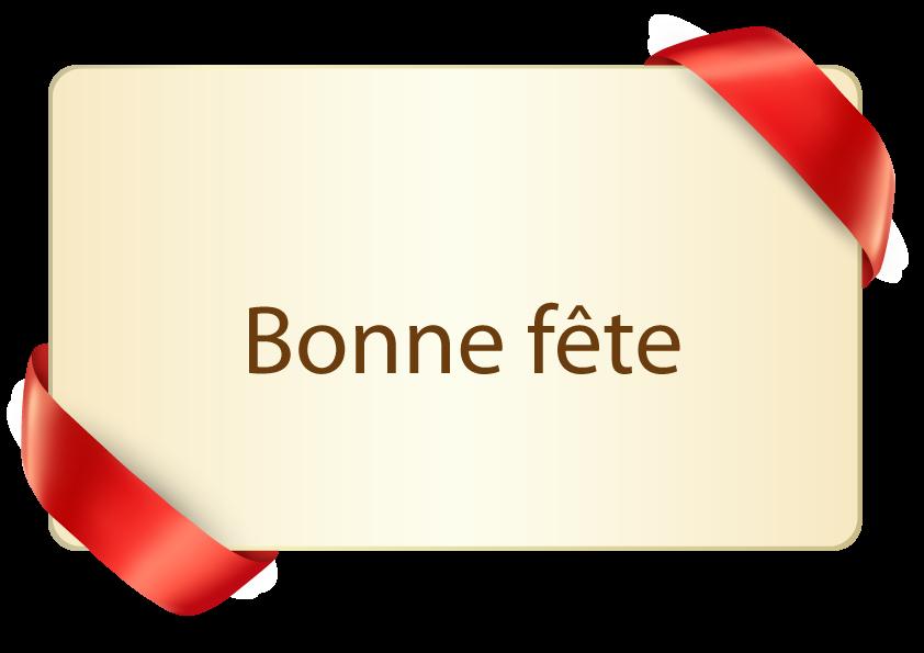 Bonne Fête