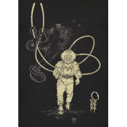 Tee-shirt Enfant La Pieuvre et le Scaphandrier