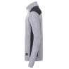 Veste polaire tricoté col zippé Le Mérou