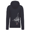 (New) Sweat Capuche Homme Vintage La Tortue