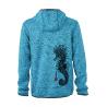 Veste à Capuche en Polaire tricoté L'Hippocampe Tatoo