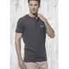 T-Shirt Henley Manches Courtes Le Requin Baleine