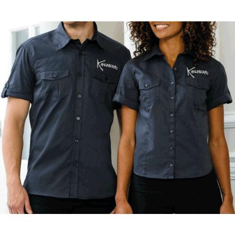 Manta Rays Men's Roll Sleeve Twill Shirt