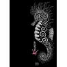 Robe sans manches L'Hippocampe Tatoo