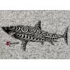 Veste Femme en Polaire tricoté Le Requin Tatoo