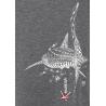 Débardeur Fluide Fendu Le Requin Baleine