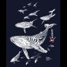 Robe sans manches Le Champ des Baleines