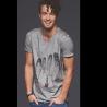 Tee-shirt délavé Le Sommeil des Cachalots