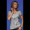 Tee-shirt délavé Femme Le sommeil des cachalots