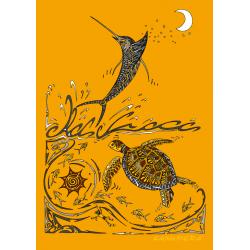 Tee-shirt Enfant Le Marlin et La Tortue
