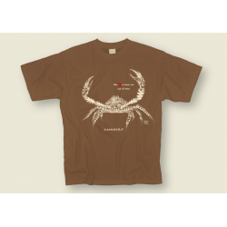 Tee-shirt Adulte Le King Crabe Tatoo