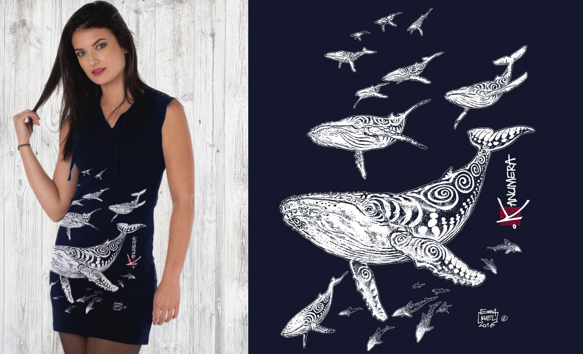 Whales Ladies Dress